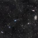 Last Year's Comet C/2017 T2 PanSTARRS; Widefield view of Forgotten Data,                                Dan Bartlett