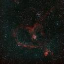 Heart and Soul Nebulae,                                David MaKieve