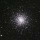 Globular cluster Messier 3 from city,                                gerard tartalo