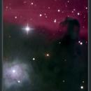 IC 434, Barnard 33, NGC 2023, Horsehead Nebula, 6 Nov 2012,                                David Dearden