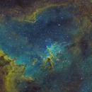 IC 1805 - The Heart Nebula SHO,                                Oliver Czernetz
