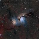 M78 Reflection Nebula LHaRGB,                                T.Space