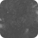 M16 M17 Mosaic in OIII,                                Ian Parr