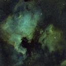 NGC7000 IC5070 SHO Mosaic,                                Seldom