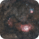 LAGOON and TRIFID nebula,                                Frigeri Massimiliano