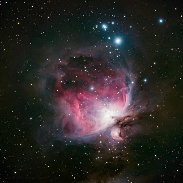 Orion Nebula (M42),                                dswtan