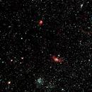 NGC7635, NGC7654 (M52), NGC7538, NGC7510,                                Stefano Zamblera
