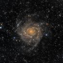 IC 342 - The Hidden Galaxy,                                Tim