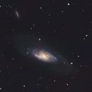 M106 and NGC 4217  in Canes  Venatici,                                Donato Calo