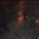 NGC 3576 NwB,                                Alberto Tomatis
