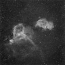 Anima e Cuore -  IC1848 , IC 1805,                                StefanoBertacco