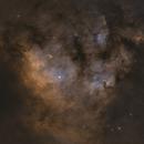 NGC 7822 (Ha:sG:OIII),                                Jeffrey Stirman