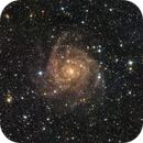 IC 342 - Spiral Galaxy in Camelopardalis (LRGB),                                Kevin Fitzpatrick