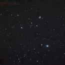 Messier 58 and NGC 4567-68,                                Lawrence E. Hazel
