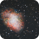 Crab Nebula reattempt,                                Marlon
