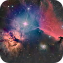 Horsehead and Flame Nebula,                                Wirrkopf