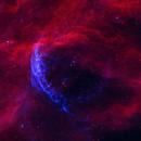 a blue eye  from space (WR 134),                                Wei Li