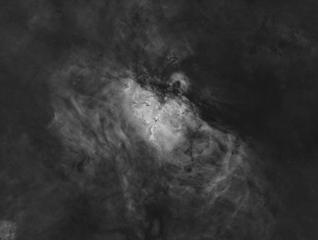 M16 starless Ha,                                astromat89