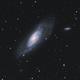 Messier 106 [CVn] in L-RGB,                                G400