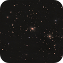 Galaxy Coma Cluster and NGC 4874 and NGC 4889,                                Stephen Heliczer FRAS