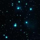 M 45 - Pleiadi - Ammasso aperto con nebulosa a riflessione,                                Alessandro BAIETTI