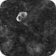 NGC6888 Crescent nebula & PNG75.5+1.7 Bubble Soap nebula,                                Marco Stra