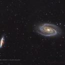 M81/M82 Bode's and Cigar Galaxy,                                Graem Lourens