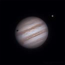 Jupiter and Ganymede shadow - 2016_04_28,                                Stephan Reinhold