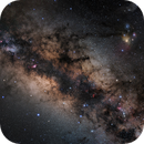 Panorama  Center of Milky Way,                                Hartmuth Kintzel