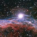 NGC 6960 The Witch broom nebula,                                Pyrasanth