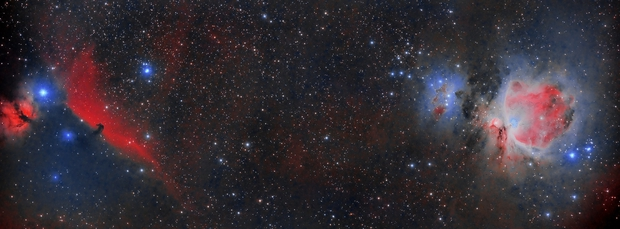 IC434 & M42,                                Javier