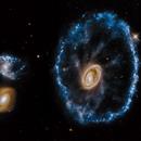 The Cartwheel Galaxy - Hubble Legacy Archive,                                Carlo Caligiuri