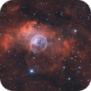 Bubble Nebula Bicolor,                                Wes Higgins