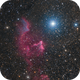 IC59 / IC63 - Ghost of Cassiopeia HaRGB,                                Victor Van Puyenb...