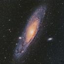 M31 New Data from Mono and LRGBHa Filters,                                Matthew Enrietta
