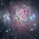 M42 - La grande nébuleuse d'Orion,                                ZlochTeamAstro