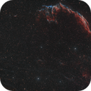 The Eastern veil nebula - from my home for a change!,                                Simon