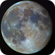 Colourful moon with small 76/700 Newton,                                Doc_HighCo