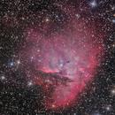 NGC 281 / 2021 - LRGB+Ha&Oii,                                Tsepo