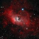 The Bubble Nebula in Bi-color,                                Kevin Dixon
