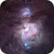 The Orion Nebula & Running Man Nebula,                                David Schlaudt