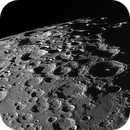 Moon south pole at favorable libration,                                Riedl Rudolf