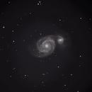 M51 The Whirlpool Galaxy,                                Daniel T. Monaghan