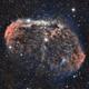 NGC 6888 - Crescent Nebula- HOO,                                Elboubou