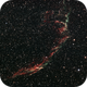 Eastern Veil nebula from the middle of Vienna Bortle 9,                                Danny