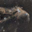 Corona Australis dark clouds,                                lizarranet