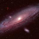 Andromeda with Hypercam 26c,                                AstroBillUK