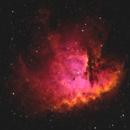 NGC 281 - Pac-Man Nebula,                                Jason Wiscovitch