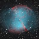 M27 - Dumbell Nebula,                                Florian APPERT