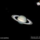 Saturn, Tethys and Encelade,                                MAILLARD